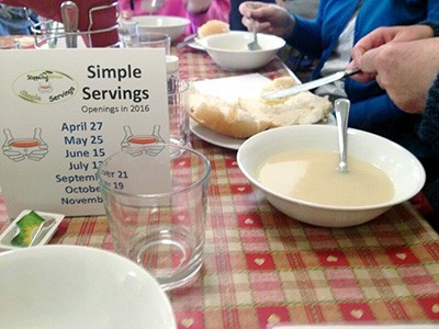 28th February - Stepping Stones: Simple Servings - 11:30am to 12:30am